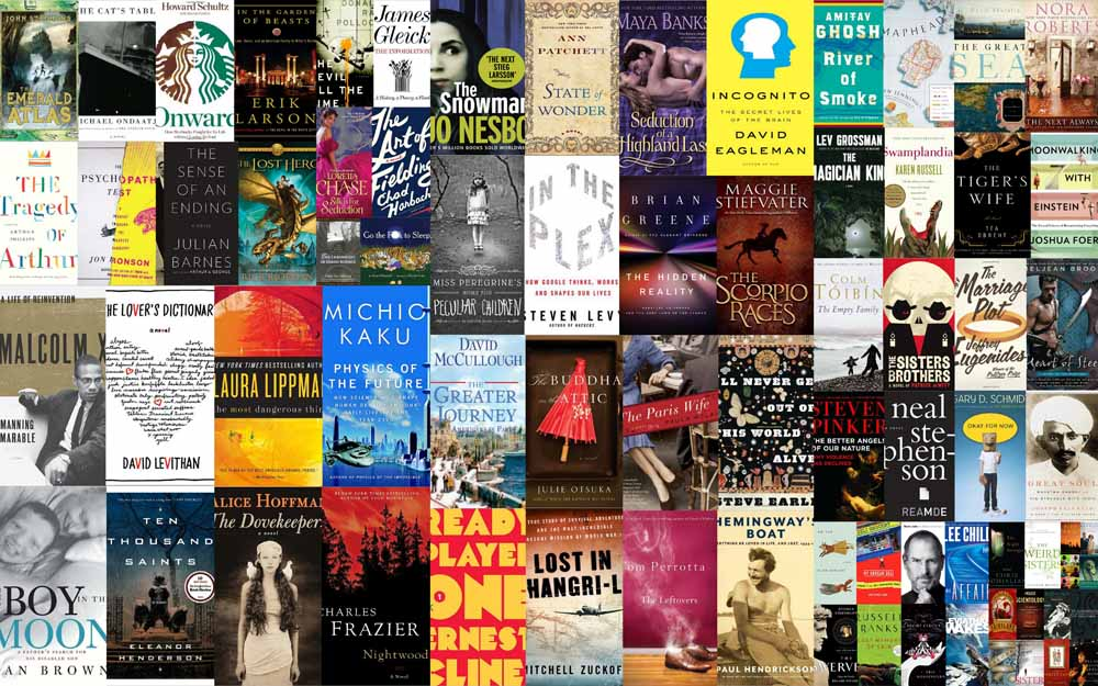 Bestseller fiction books